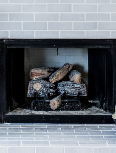 Tiled Fireplaces