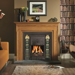 Tiled Fire Place Supplier North Leeds